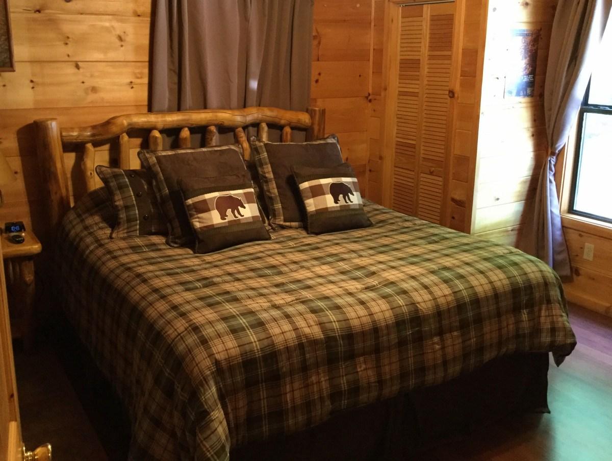 Master Bedroom at Yeti Peak