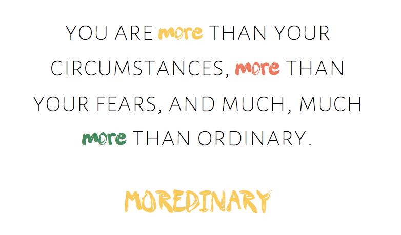 moredinary
