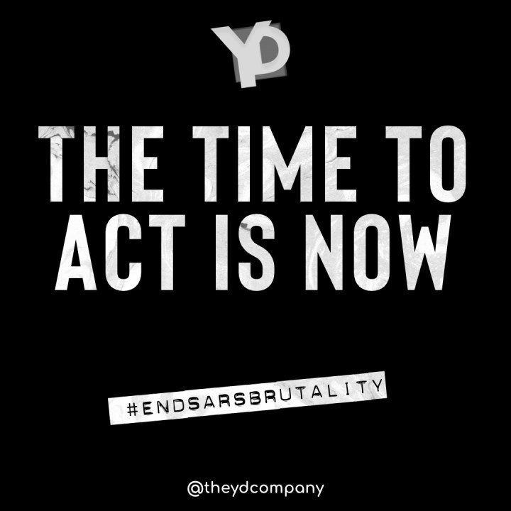 The time to act is now – YD
