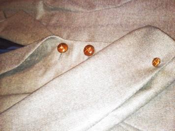 Tailored Jacket: detail