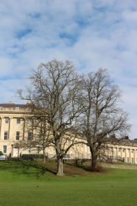 Royal Crescent Bath 8 miles from the Annexe Yew Tree Cottage