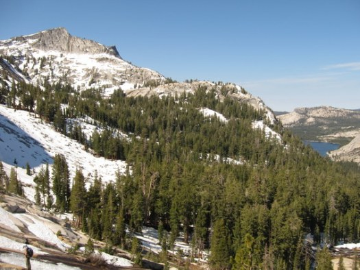 Tenaya Peak and Pywiack Lake, Yosemite National Park