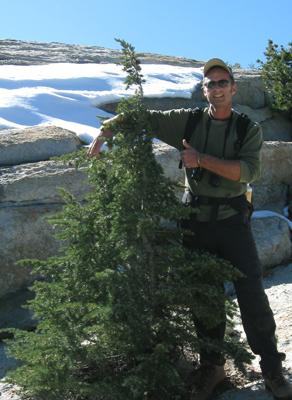 Dan Webster, Yosemite Naturalist Hiking Guide