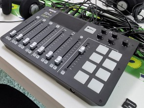 Photo of a sound mixer Rode RodeCaster Pro