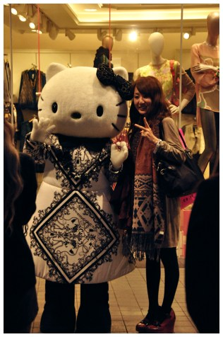 hello kitty dan...hello girl! ;p