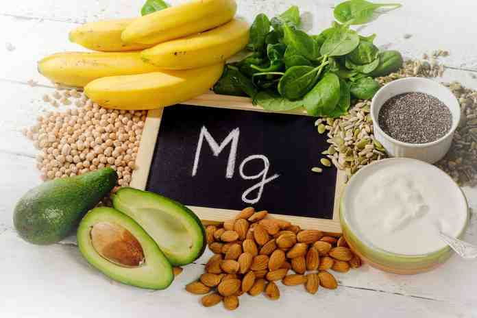 Magnesium rich food