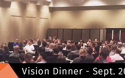 Young Adults Vision Dinner Summary
