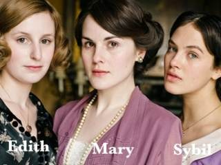 Downtonabbey-sisters