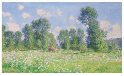 Effet de Printemps à Giverny, © private collection