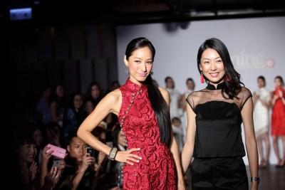 CocoChiang, Grace Choi@Yi-ming fashions show