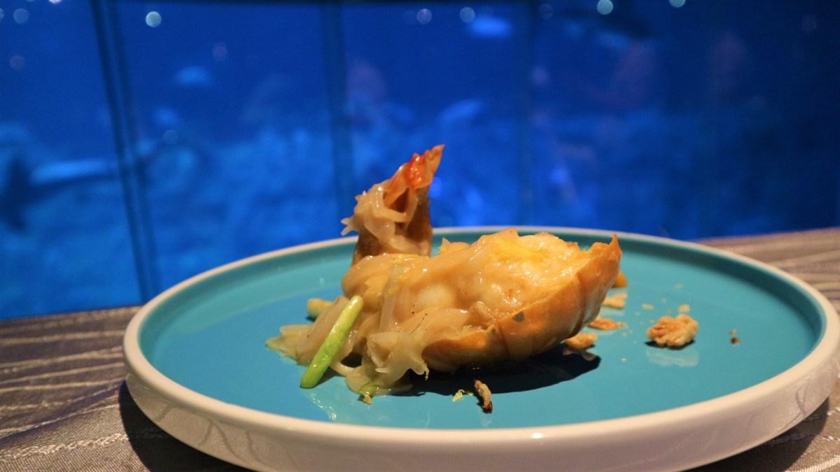 【海洋公園2018】海龍王餐廳 星級名廚夏日限定8道菜!