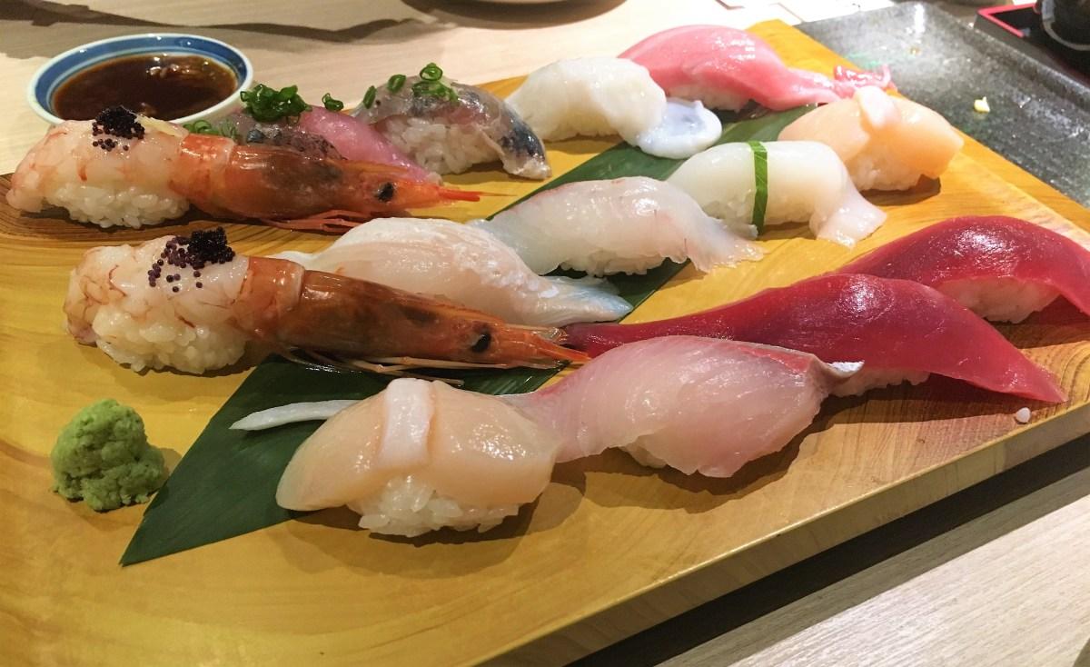 【旺角】香港梅丘壽司の美登利総本店 – 人氣旺的過江龍壽司店,定價略高、水準尚可!
