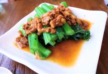 肉燥青菜 ($46)