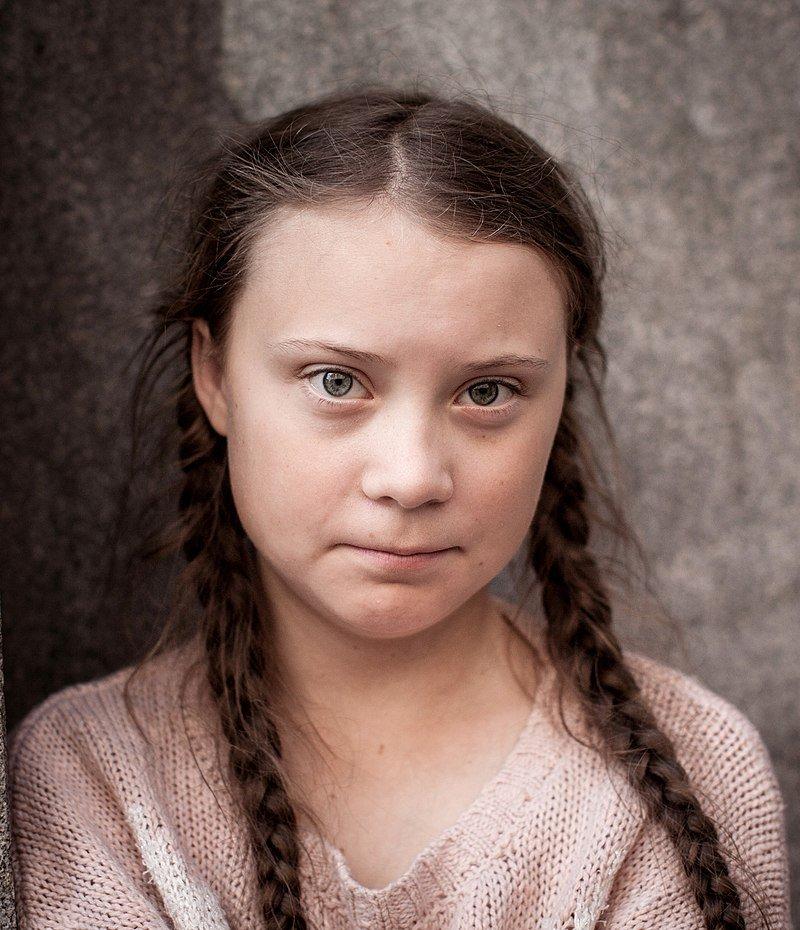 Greta Thunberg, 2018. Foto: Anders Hellberg