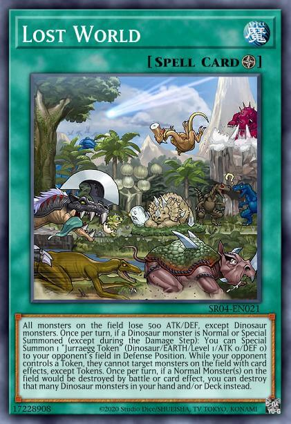 Lost World - Card Information   Yu-Gi-Oh! Database