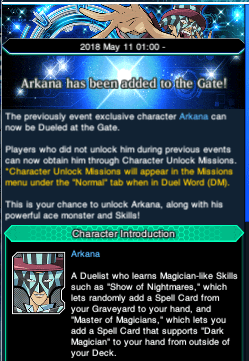 The Organization | [Duel Links] Arkana at the Gate
