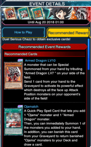 The Organization | [Duel Links] Serious Chazz event