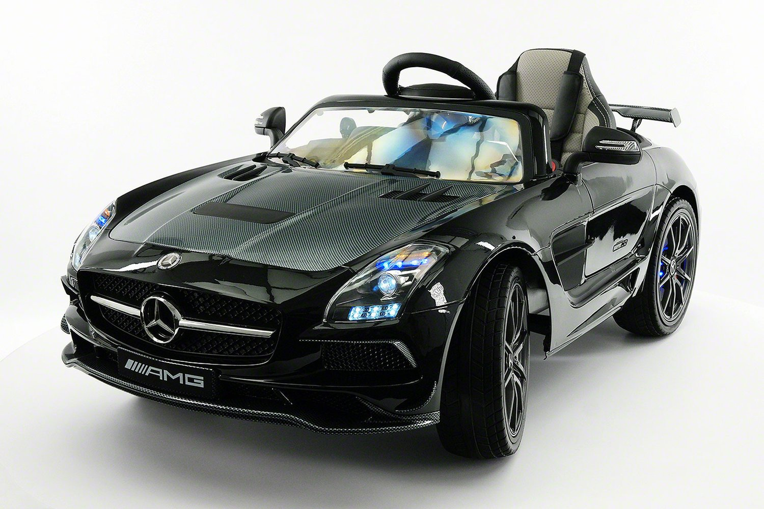 Mercedes Sls Amg Final Edition 12v Kids Ride On Car With