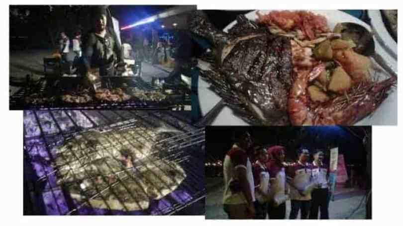 Makan malam seafood