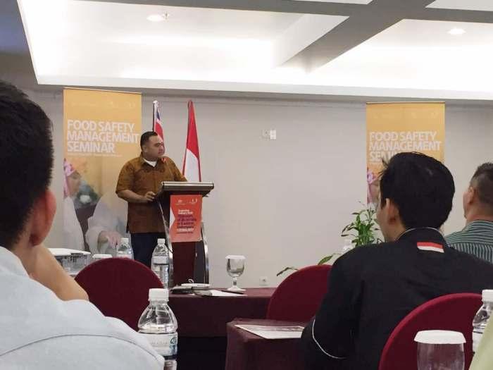 Food Safety Manajemen Seminar