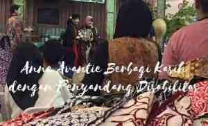 Anne Avantie Berbagi Kasih dengan Penyandang Disabilitas