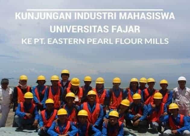 Kunjungan Industri Mahasiswa Universitas Fajar ke PT. Eastern Pearl Flour Mills