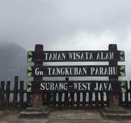 Pesona Gunung Tangkuban Parahu
