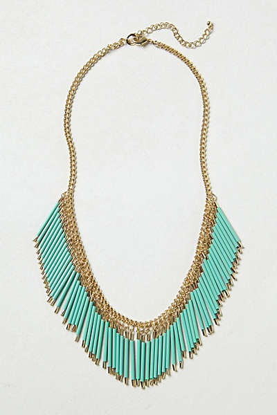 Fringed Quills Necklace, $42.00
