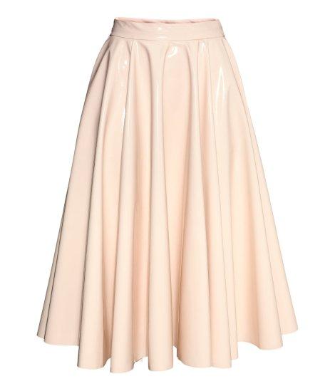$59.99, Glossy Skirt, H&M