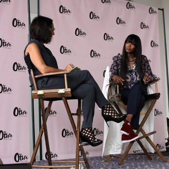 Anne Fulenwider, Editor-in-Chief of Marie Claire and Naomi Campbell, model and author