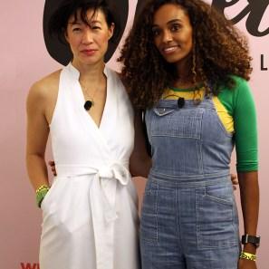 Karen Wong, deputy director of the New Museum and Gelila Bekele, activist and filmmaker.