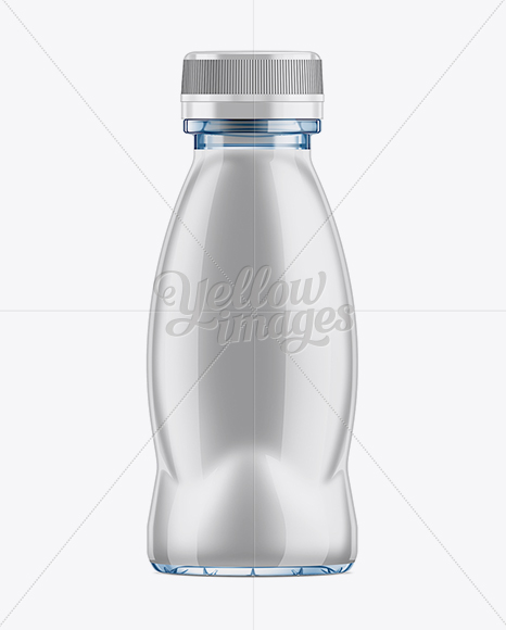 Download Plastic Smoothie Bottle Psd Mockup Yellow Images