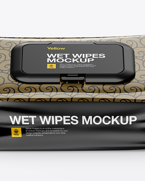Download Wet Napkin Mockup Free Yellowimages