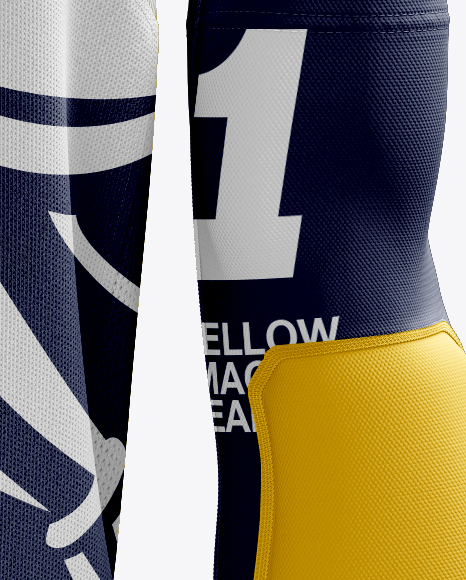 Download Basketball Kit W V Neck Tank Top Mockup Back View Yellow Images