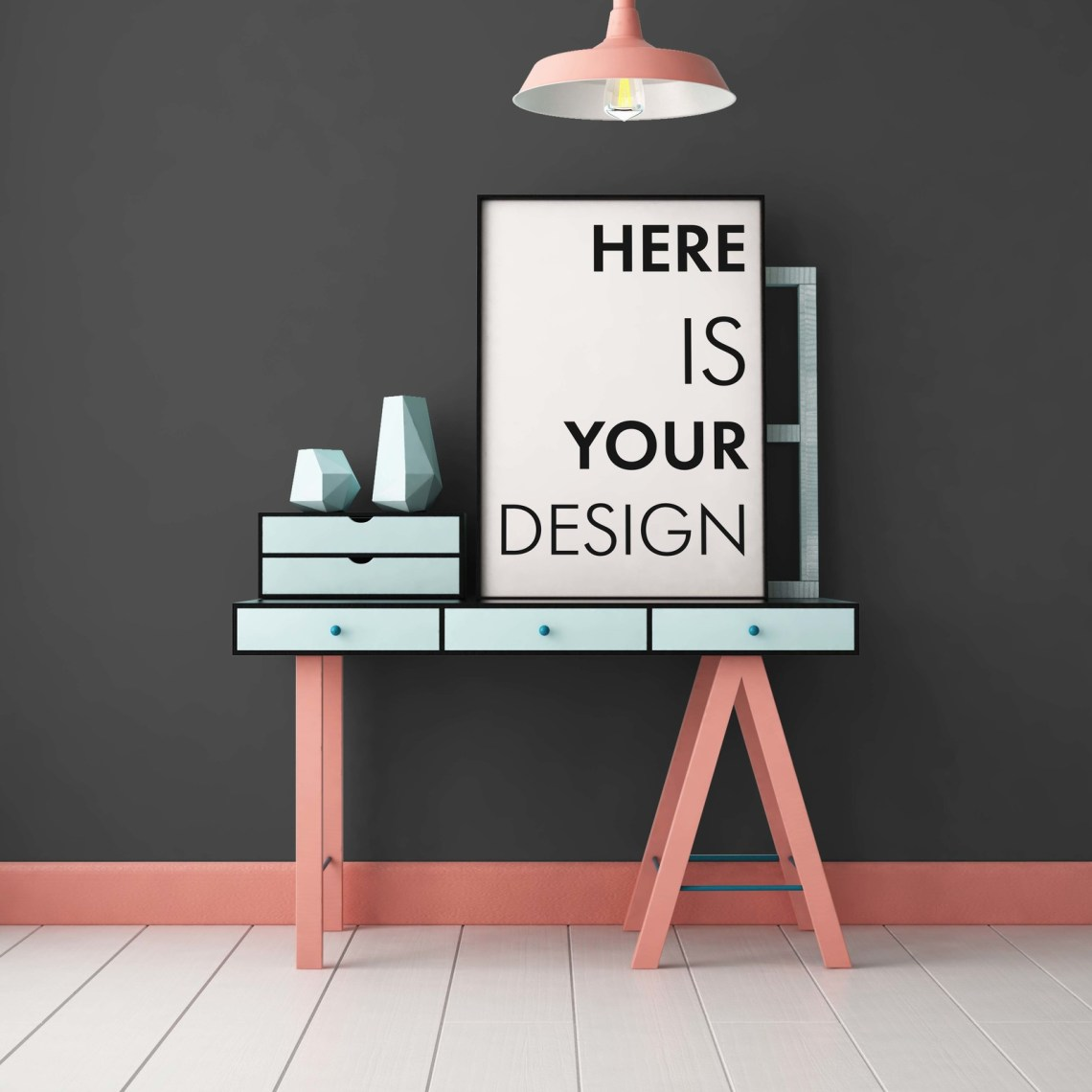 Download Kitchen Poster Mockup Free Yellowimages