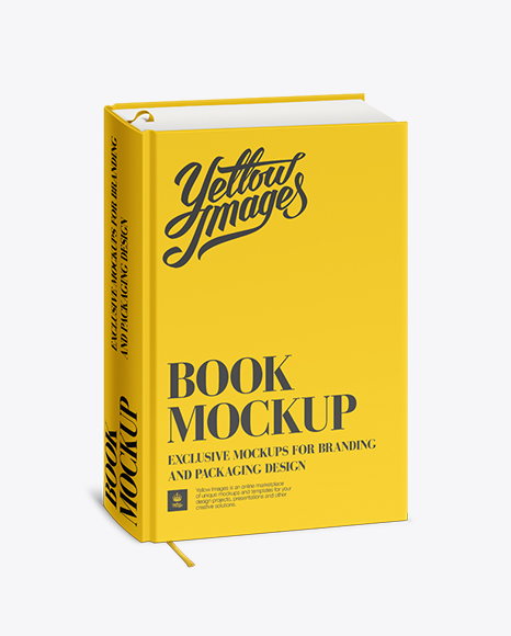 Download Psd Mockup Hardback Book Yellowimages