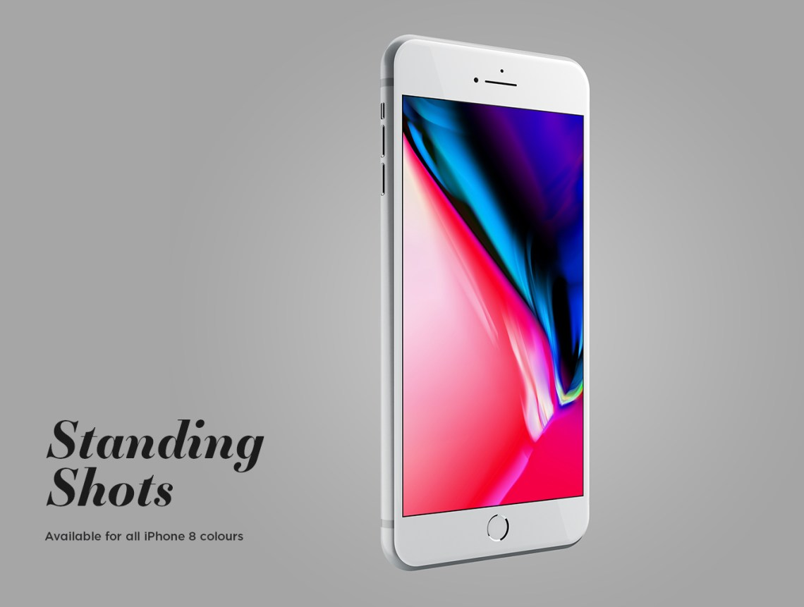 Download Iphone 8 App Mockup Psd Yellow Images