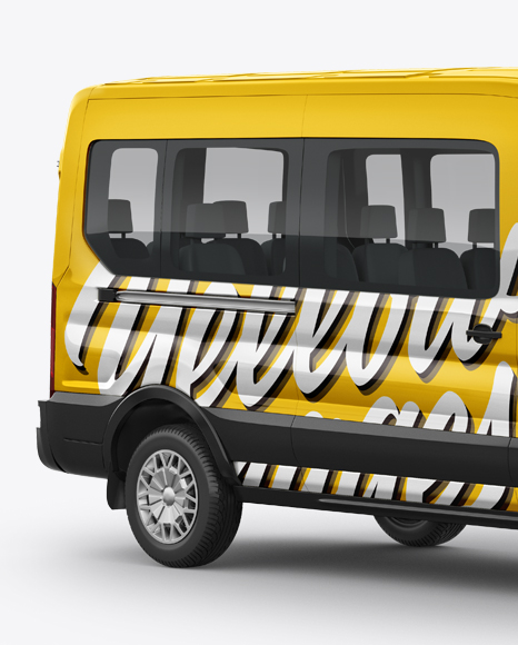 Download Van Logo Mockup Free Yellowimages