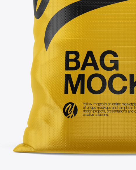 Download Woven Bag Mockup Free Yellowimages