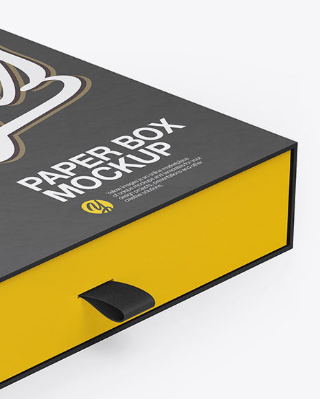 Download Slide Box Mockup Free Yellowimages