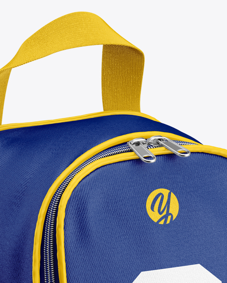 Download Boot Bag Mockup Half Side View Yellow Images