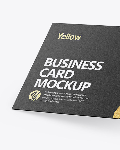 Download Free Download Mockup Visit Card Yellowimages