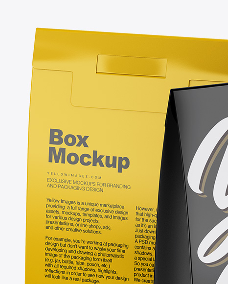 Download Free Download Mockup Box Yellow Images