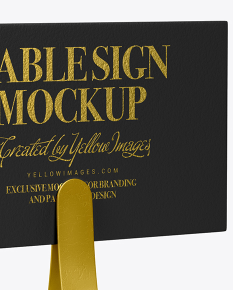 Download Paper On Table Mockup Psd Yellow Images