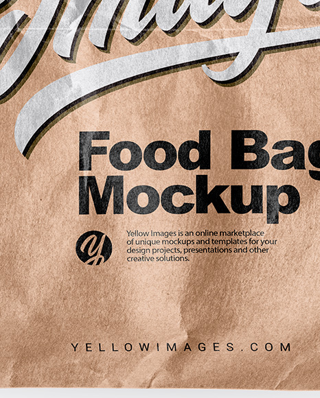 Download Paper Food Mockup Free Yellowimages