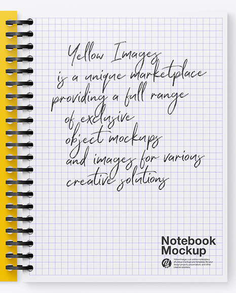Download Mockup Psd Notebook Yellowimages