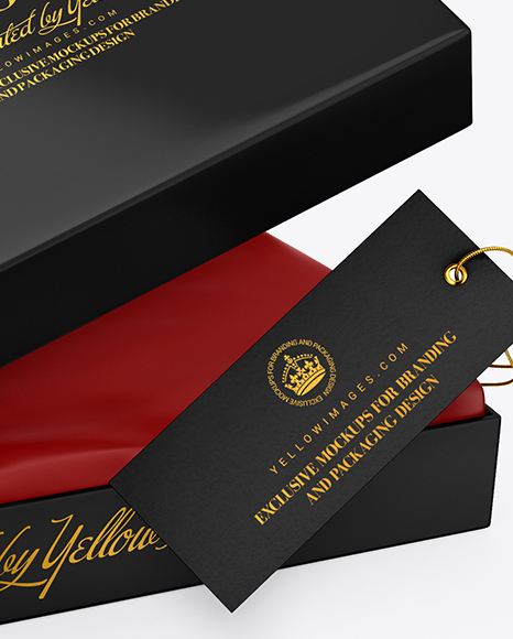 Download Gift Packaging Mockup Yellowimages