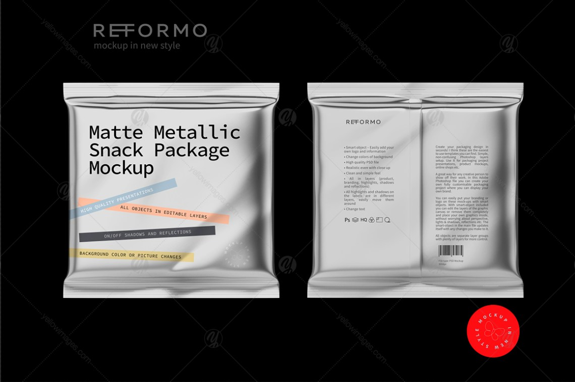 Download Package Mockup Design Template Yellowimages