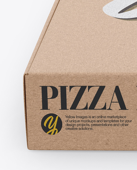 Download Pizza Box Psd Mockup Yellowimages