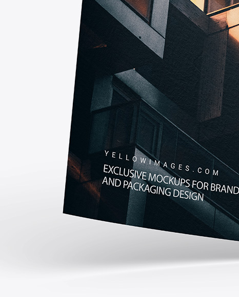 Download Mockup Flyer A4 Psd Yellowimages